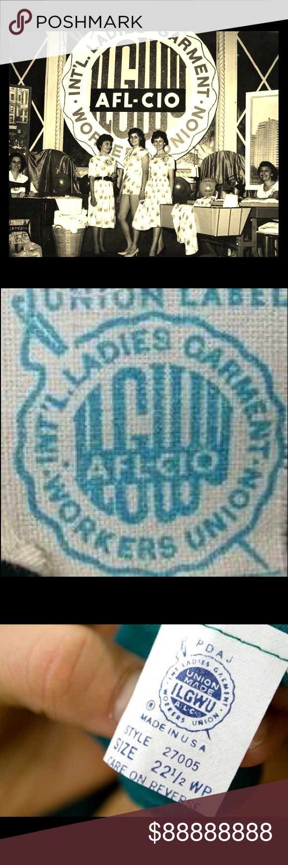 Ladies garment union labels dating