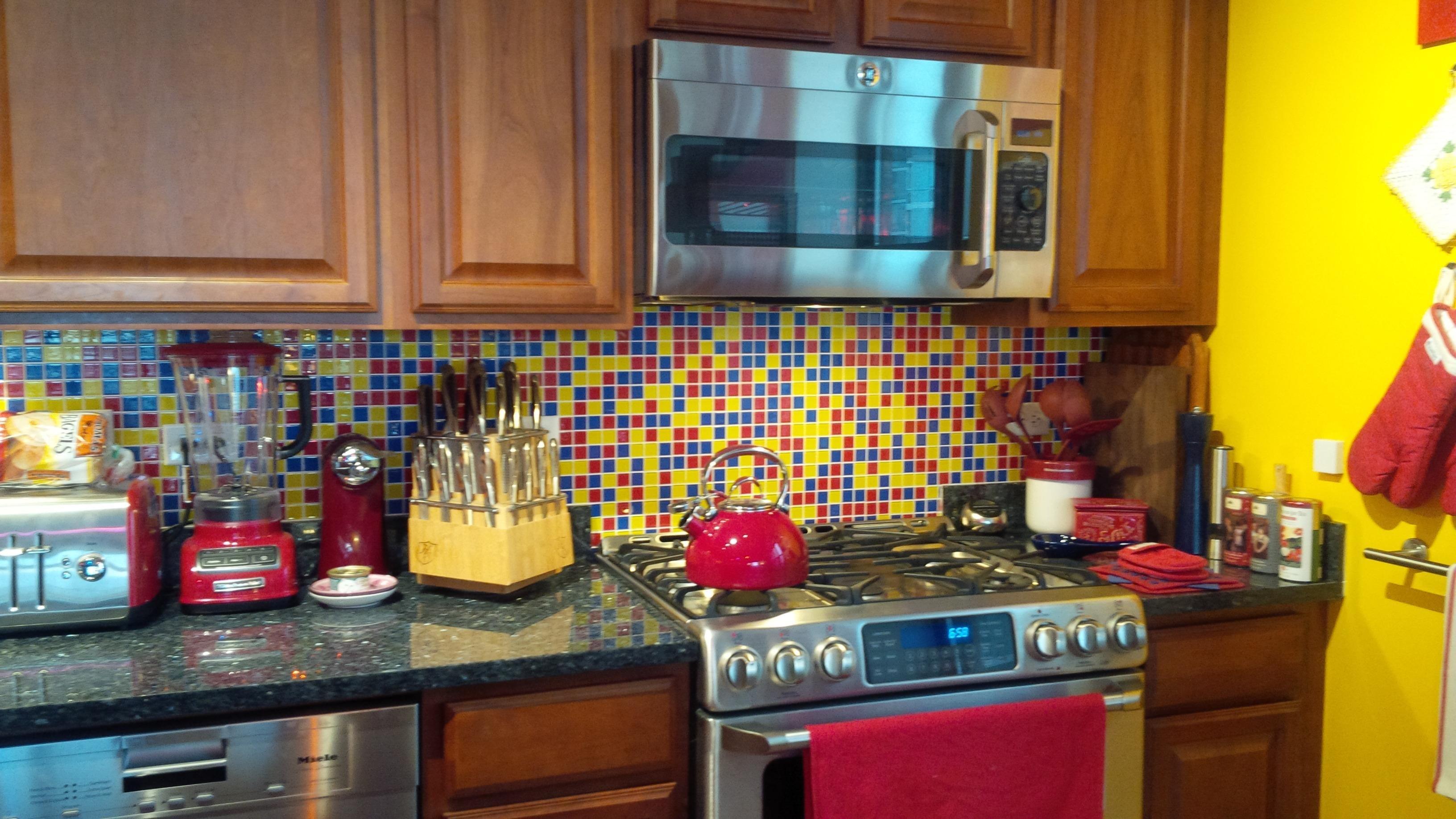 Susan Jablon Mosaics Yellow Kitchen Decor Kitchen Inspiration