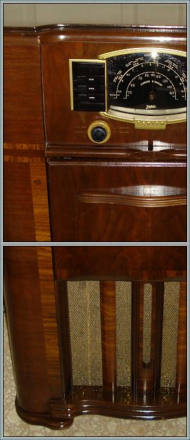 1942 Zenith Model 7s682 Radio Phonograph After Restoration
