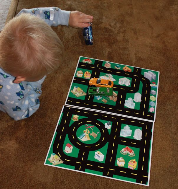 photograph about Printable Floor Mats called Printable Toy Car or truck Highway Map - Absolutely free! Tot College Plans and