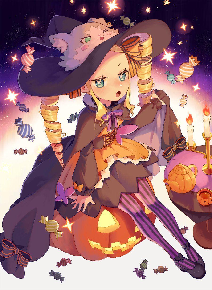 Pin On Fanarts Halloween anime wallpaper hd