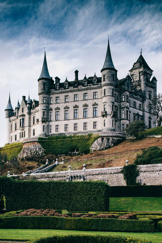 Обои scotland, Шотландия, sutherland, Dunrobin, замок. Города