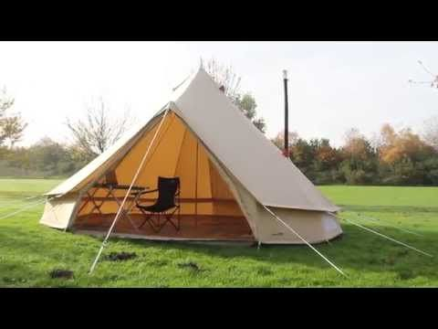 2015 - 500 Sibley Ultimate Pro Assembly & Frontier Stove Installation - Netherlands - YouTube