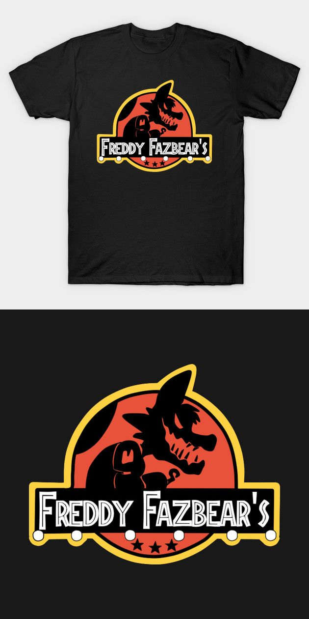 Five Nights At Freddys Jurassic Park T Shirt Fnaf Pinterest