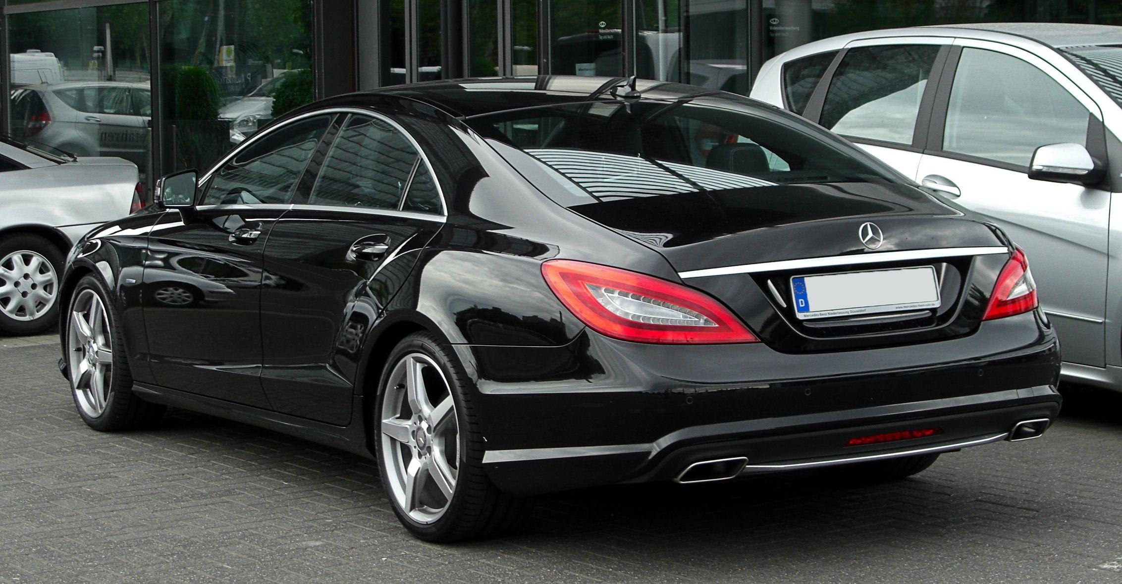 Black Cls 500 Mercedes Cls