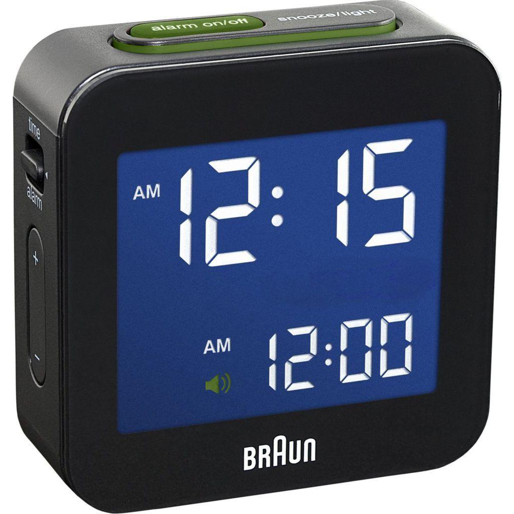 Braun Bnc008 Digital Alarm Clock Travel Alarm Clock Digital Alarm Clock Alarm Clock