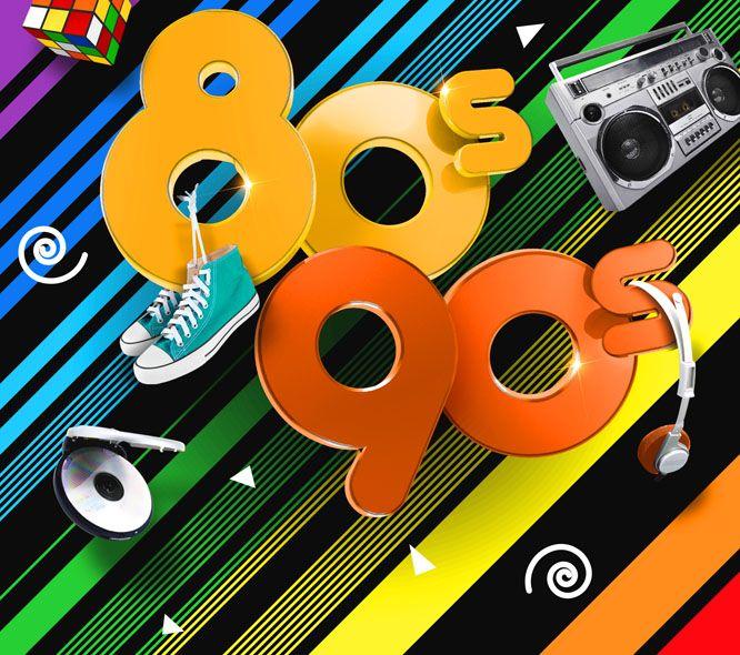 80's 90's Les plus grands hits des années 80 90 !
