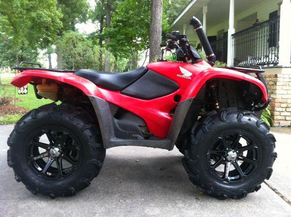 Honda Four Wheelers For Sale >> Lifted Honda Rancher Dagatoreater123 Atv Atv Four
