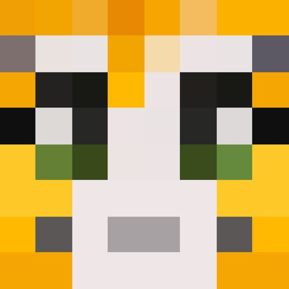 Stampy Face 8 x 8 Digital Download Perfect for by WGPrintables