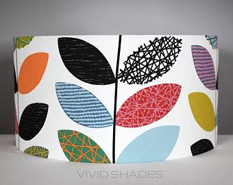 Handmade Uk Scandinavian Fabric Lampshades By Vividshadesstudio Fabric Lampshade Scandinavian Fabric Handmade Uk