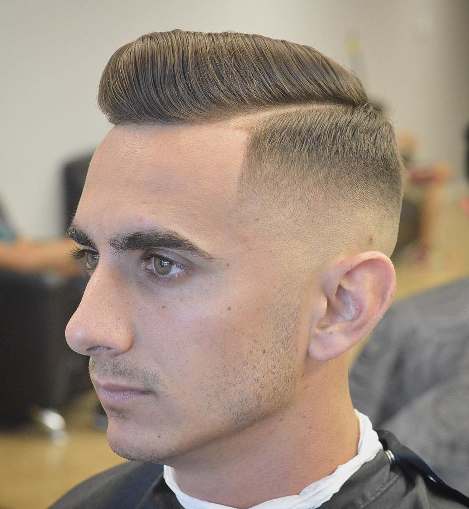side parted tapered style | haircut 2017 | pinterest | haircuts