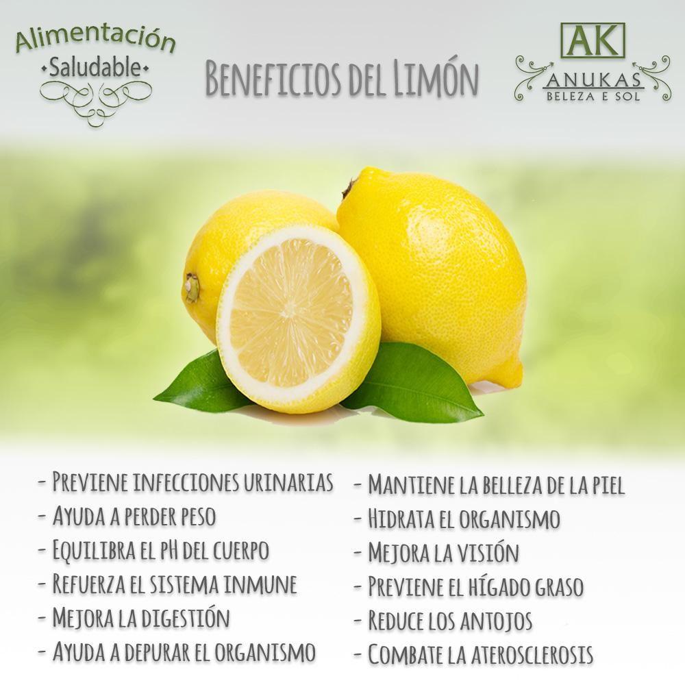 #Alimentación #Saludable Conoce los beneficios del limón para tu #Bienestar