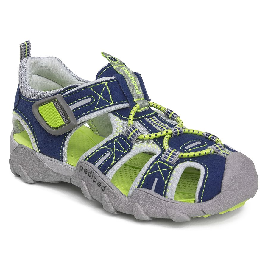Congratulations Serena! You have won the free pair of pediped Adventure line shoes - Canyon - Navy, Lime Flex