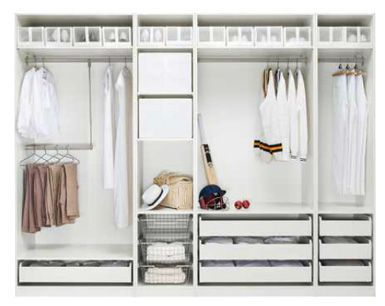A step-by-step guide to turn an IKEA Pax closet system into a ...