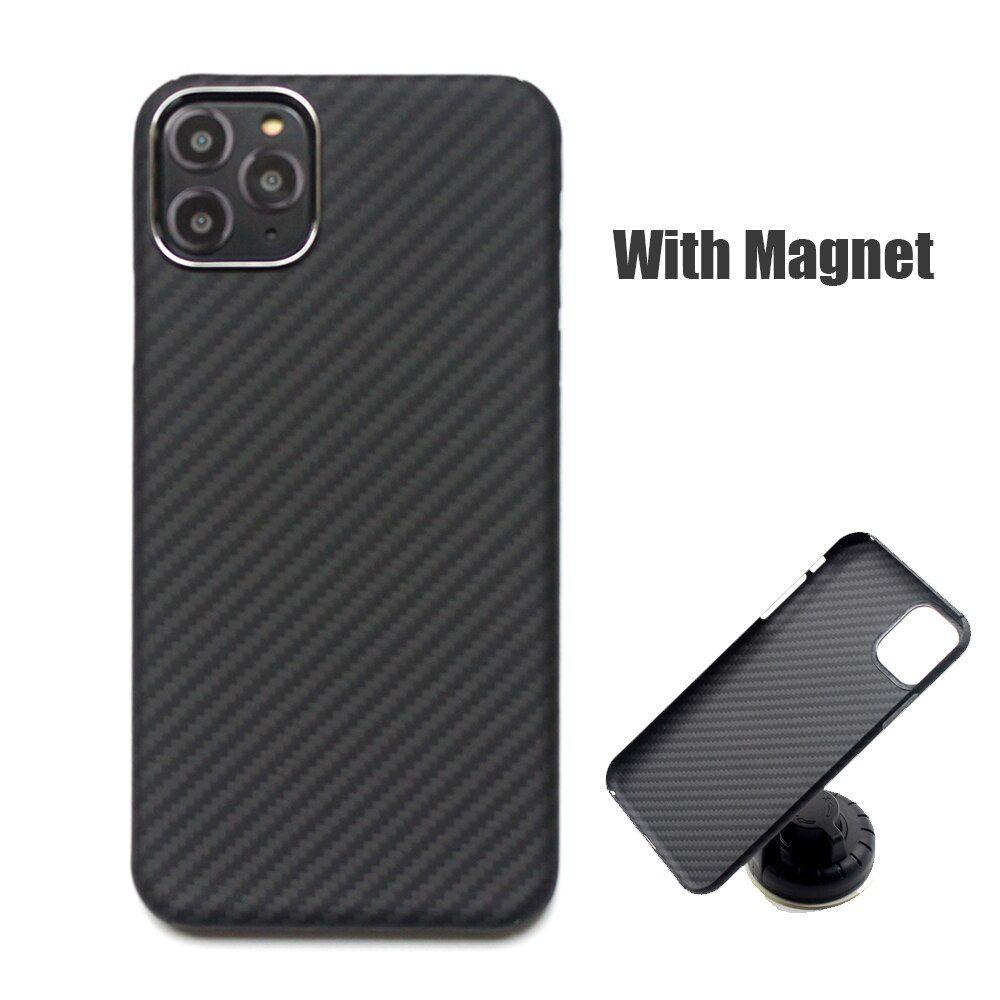 Carbon fiber case for iphone 11 pro max xs matte
