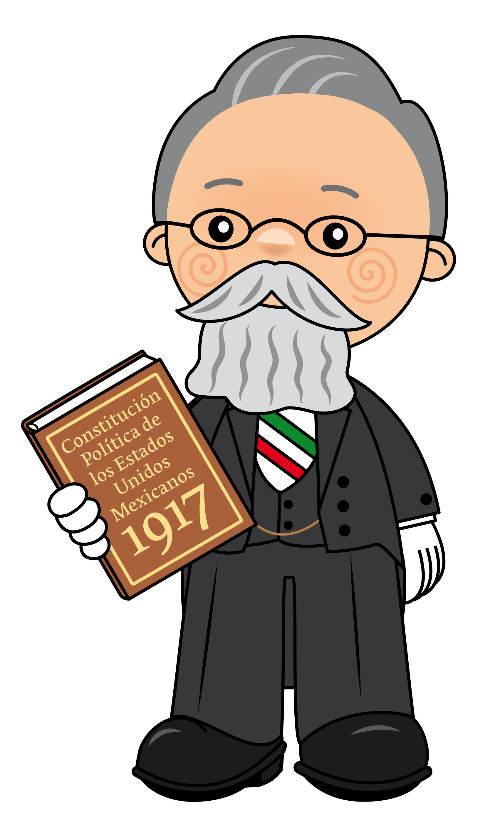 Venustiano Carranza 2 Revolucion Mexicana Para Ninos Constitucion Mexicana Para Ninos Revolucion Mexicana Para Colorear