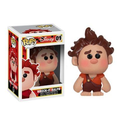 Disney POP! Ralph reicht's RALPH 10cm Vinyl ´Deformed´ Figur