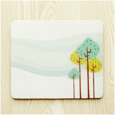 Abstract Landscape 2 Mouse Pad Cloth Surface Natural by ATHiNGZ, $12.99