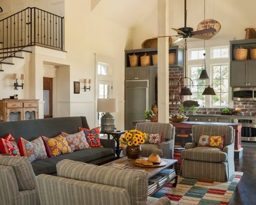 Comfy Modern Farmhouse Living Room Decor Ideas