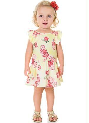 15bf72814 Vestido Infantil Milon Amarelo - Posthaus