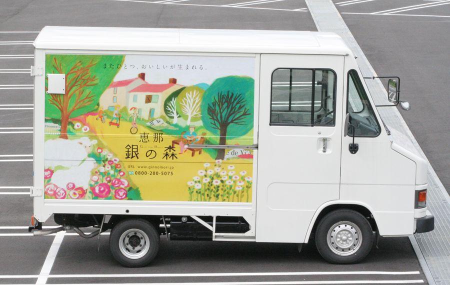 Package シバタケイコ イラストレーション ポスターの模様