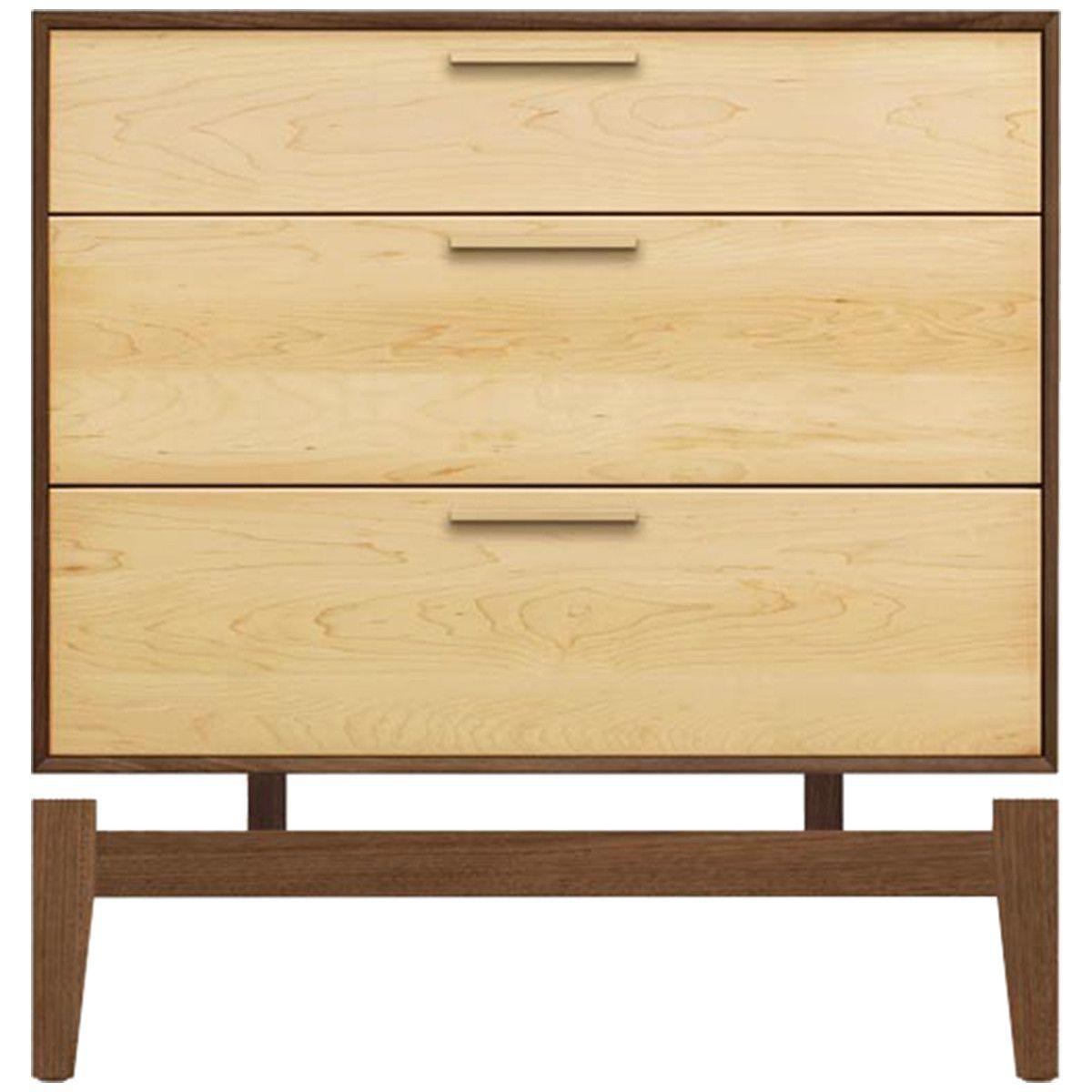 Copeland furniture soho 3 drawer nightstand