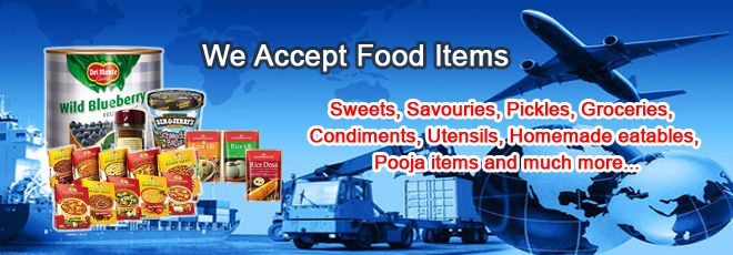 If you are a food lover and want to taste different kinds of food from across the world, use our international courier for food item service.  http://expressairlogistics.com/food-product/