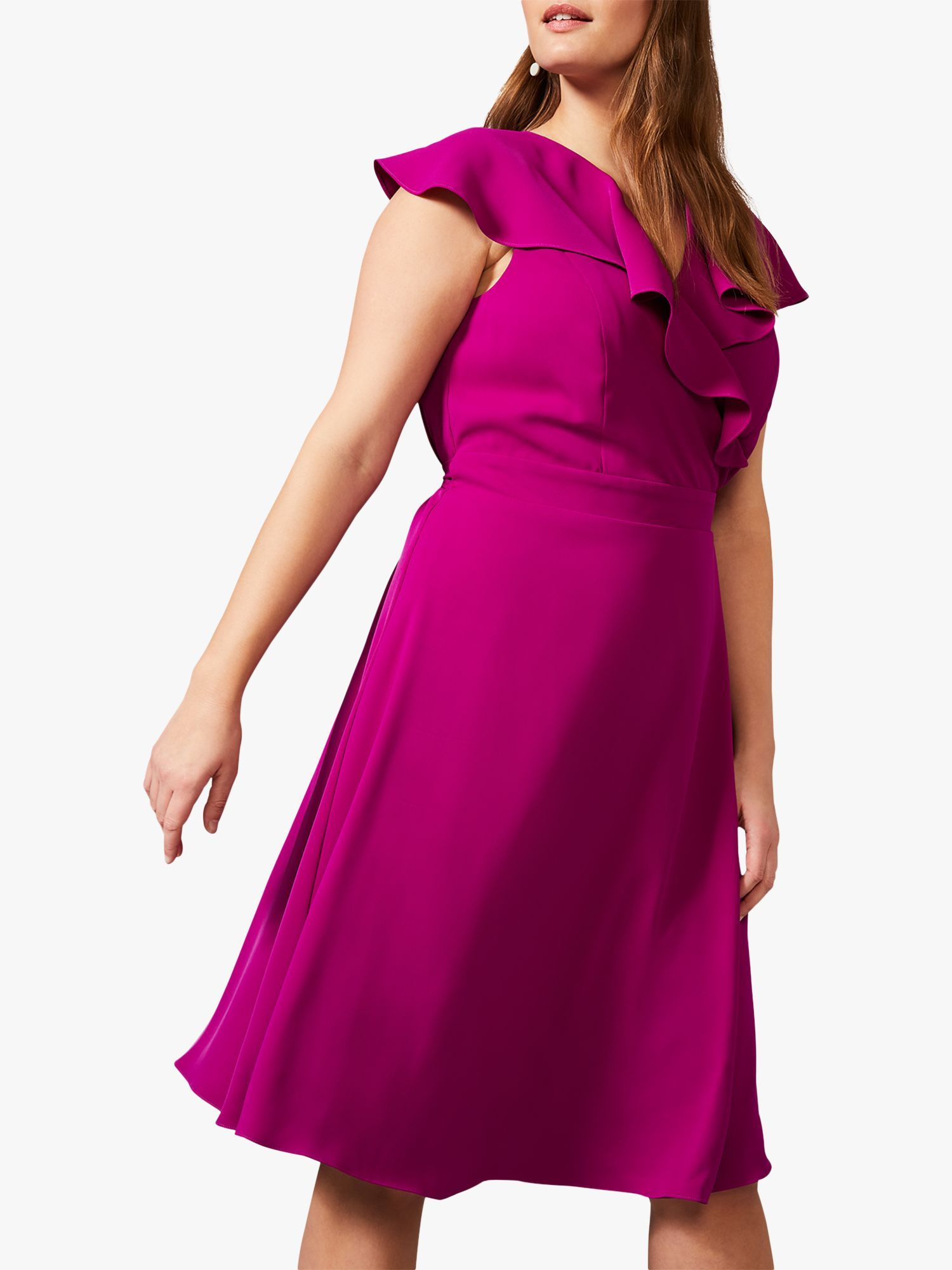 A dress you can turn to whatever the occasion, this Rachel style from Studio 8 offers just that. Featuring a vibrant hue and a soft ruffle finish, pair yours with delicate jewellery, a sleek updo and strappy heels.