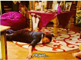 Me. When finish my favorite  serie