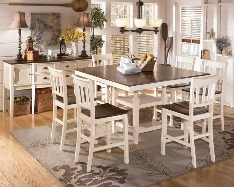 What Is Cottage Chic | White Dining Furniture Chicago Country Style