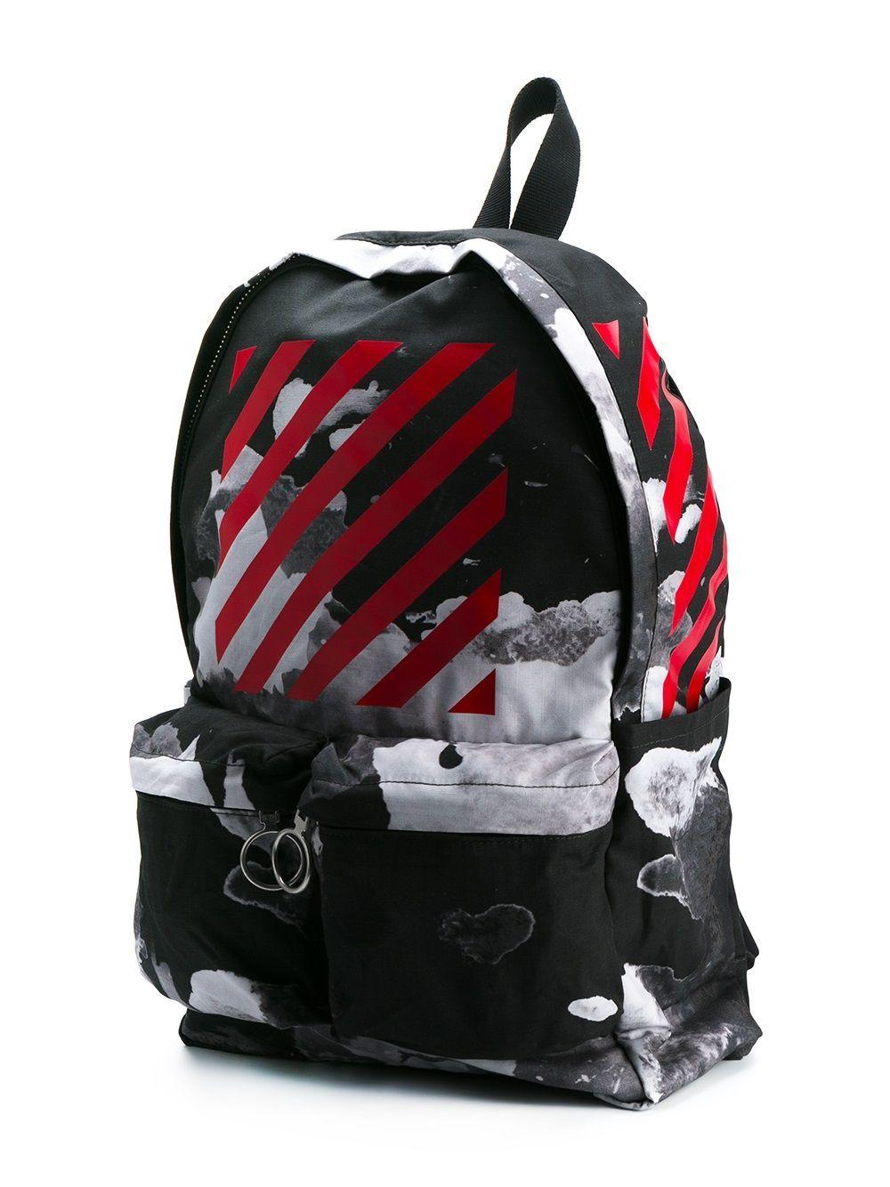 9bc53dbf20ae Off-White рюкзак с абстрактным принтом | backpacks style in 2019 ...
