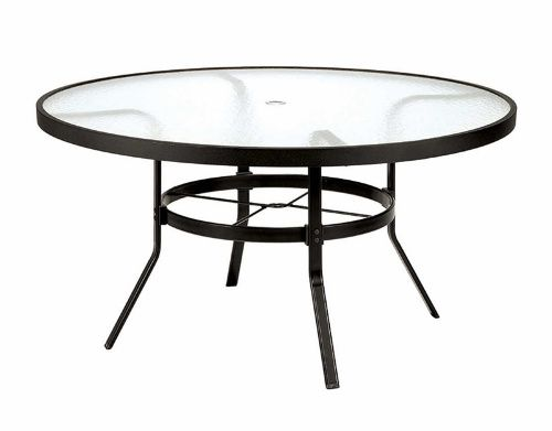 Winston 54 in obscure glass top round dining table patio dining obscure glass top round dining table patio dining tables at hayneedle watchthetrailerfo