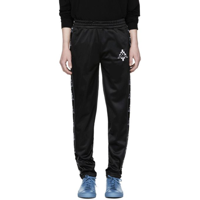 Clearance 2018 Unisex Black Kappa Edition Lounge Pants Marcelo Burlon Visa Payment Cheap Online Shop hsCe8