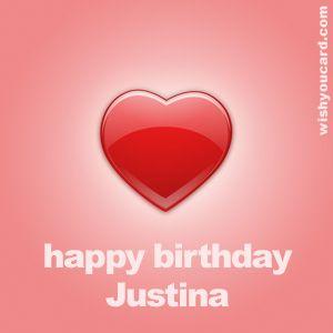 Happy Birthday Justina Glucklicher Geburtstag Alles Gute Zum