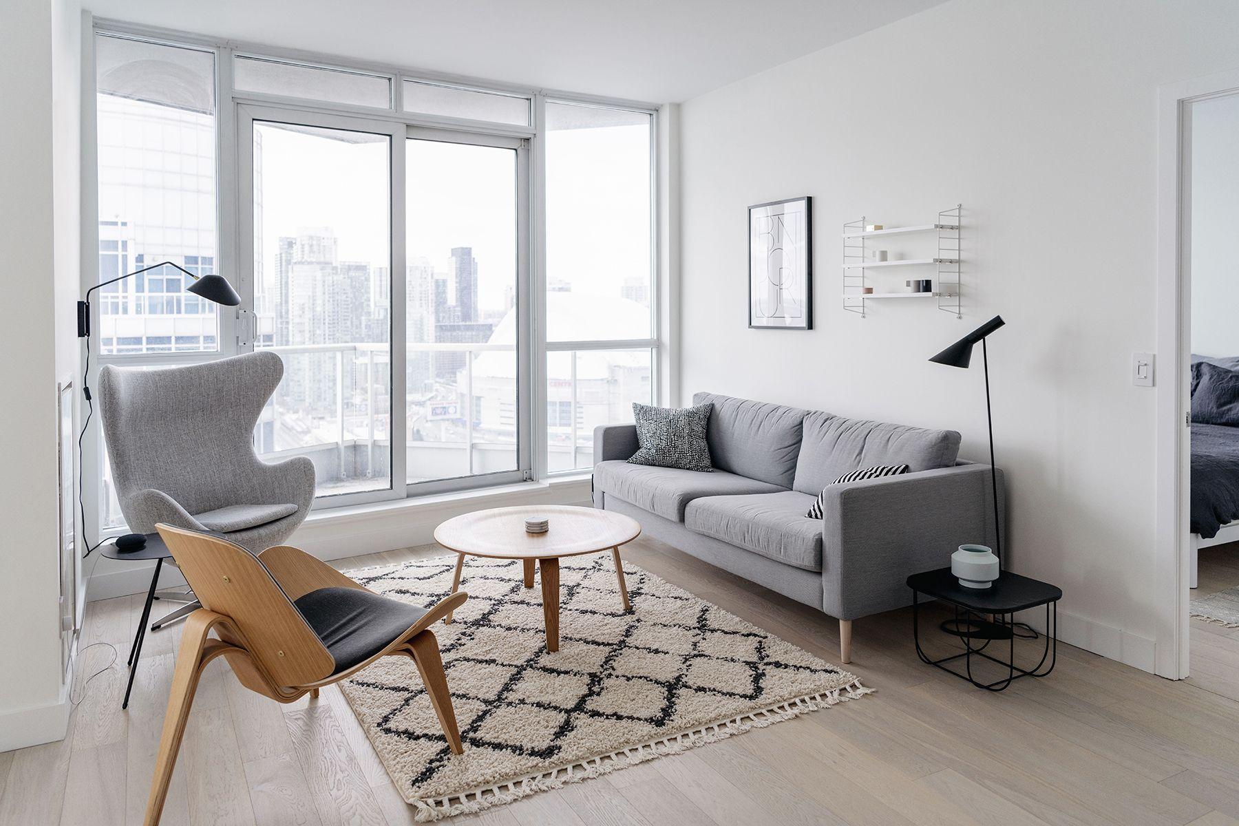 Condo Living Room Tour A Bright Minimalist Space Happy