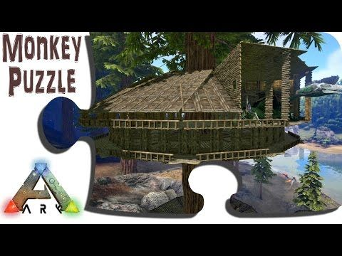 Ark: Survival Evolved Tree Platform Building Tutorial   How To Build On Tree  Platforms   YouTube