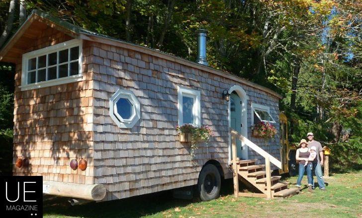 SchoolBus Casa – El Bus Escolar Hogar Construido por Jeremy y Mira Thompson