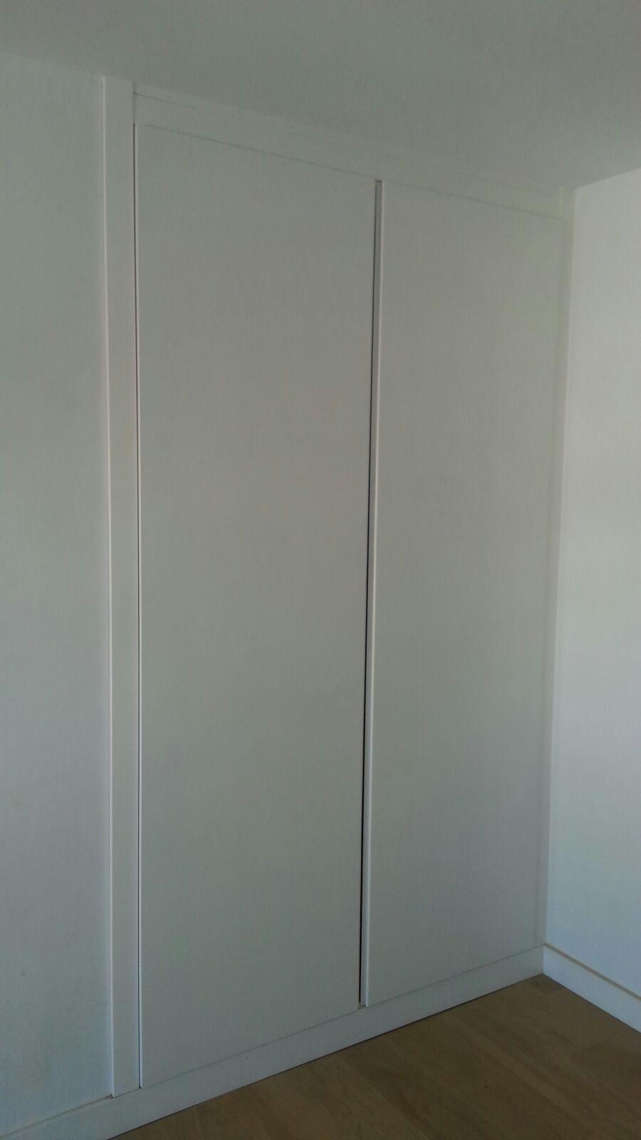 En DeArmario Abatible Lacado Frente Blanco Con u1TJKc3lF