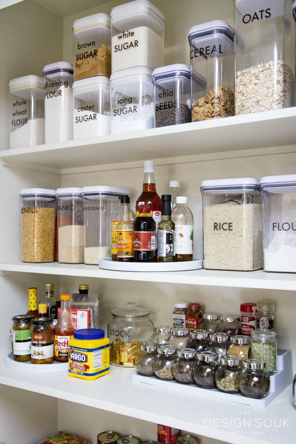 How I Organized My Pantry And My Favorite Storage Tools The Design Souk Tool Storage Storage Kitchen Storage Organization