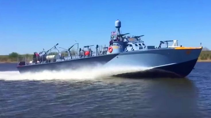 World's Only Patrol Torpedo Boat Restored To Life – It Has Some Killer Speed