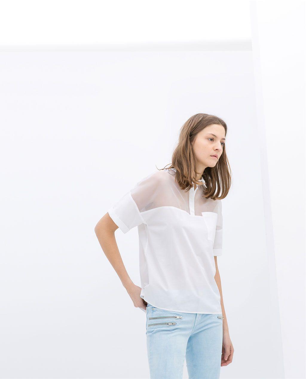 Nouvelle Lace Detail Polo Shirt