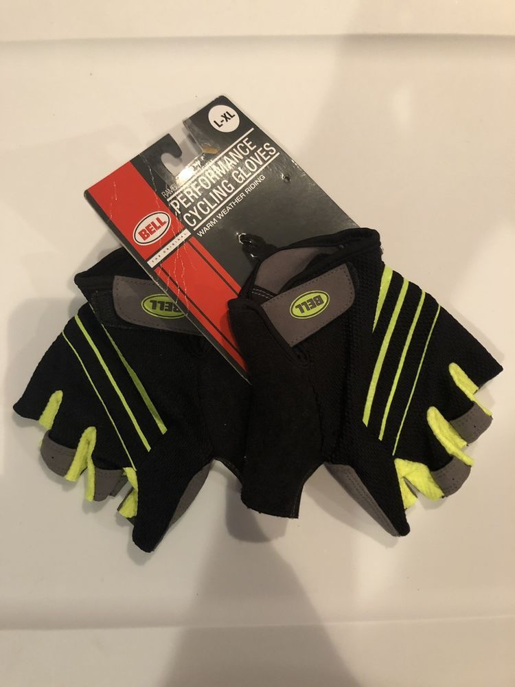 Bell Ramble 500 Half Finger Performance Cycling Gloves L-XL Brand New