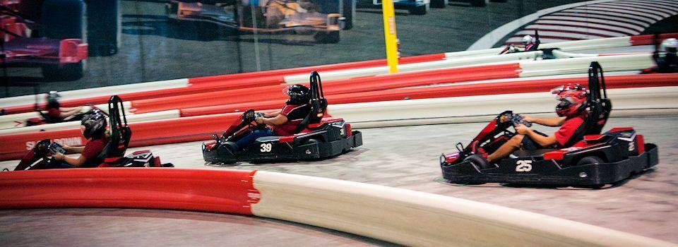 Autobahn Indoor Speedway Manassas Go Kart Racing Fun Manassas