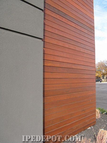Ipe Siding Exterior Wall Cladding House Paint Exterior Exterior Wall Siding