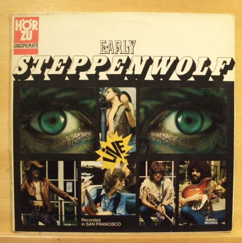 STEPPENWOLF-Early-Steppenwolf-Vinyl-LP-Hoer-Zu-The-Pusher-Corina-Corina