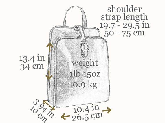 186935917c97 Leather backpack