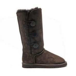 UGG Bailey Button Triplet Chocolate UGG Boots Clearance $136.02  http://www.gotofashionhots