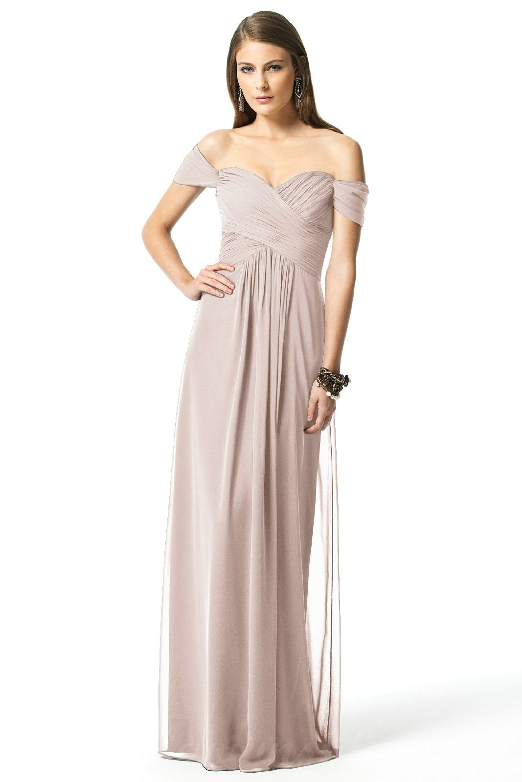 Sweetheart off the shoulder top bridesmaid google search take a look at this gorgeous dessy style 2844 bridesmaid dress in nude fabric available in sizes and tons of colors at brideside ombrellifo Gallery