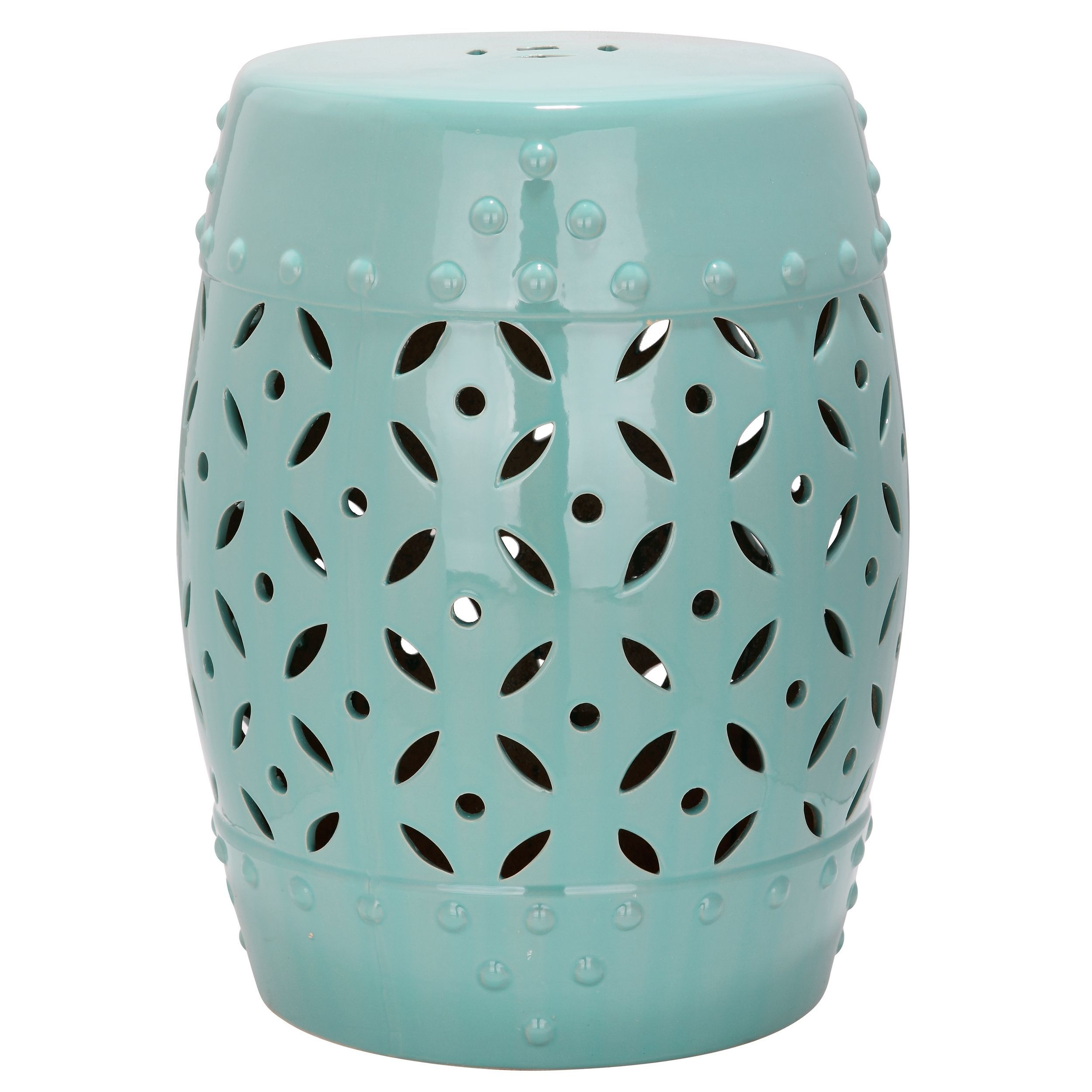 Awesome Safavieh Paradise Harmony Light Blue Ceramic Garden Stool Gmtry Best Dining Table And Chair Ideas Images Gmtryco