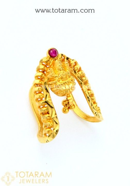 22K Gold Vanki Rings made in India Buy line South Indian